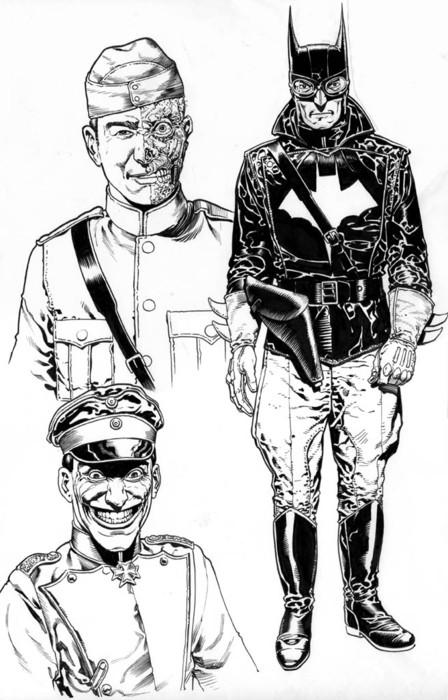 Бэтмен - стимпанк (Фото 2)