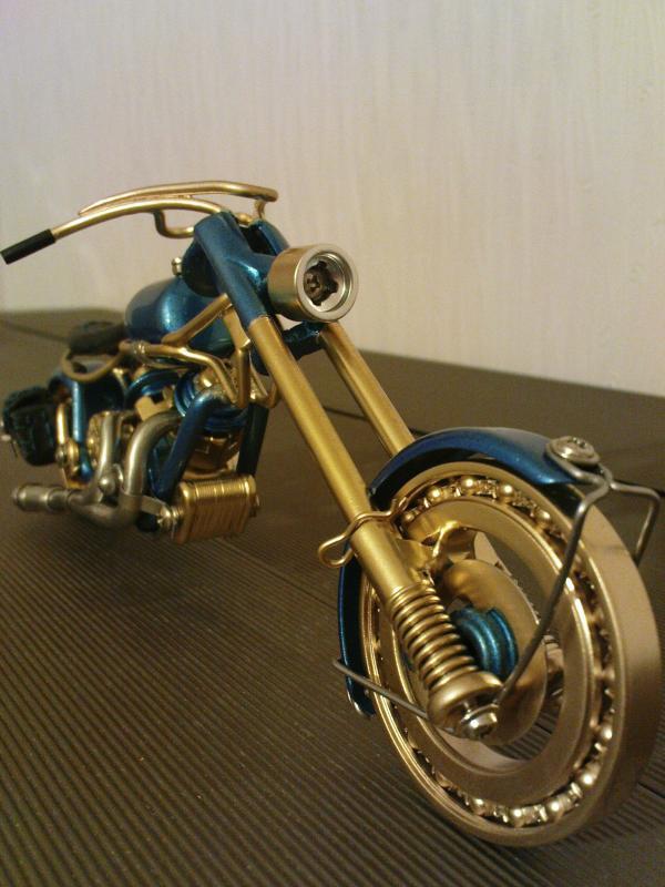 мотоцикл для робота (Фото 6)