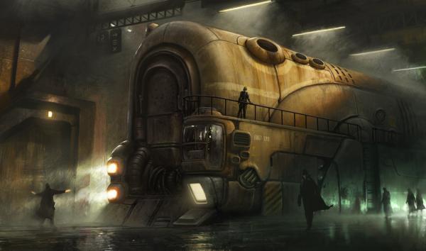 Поезд темного будущего