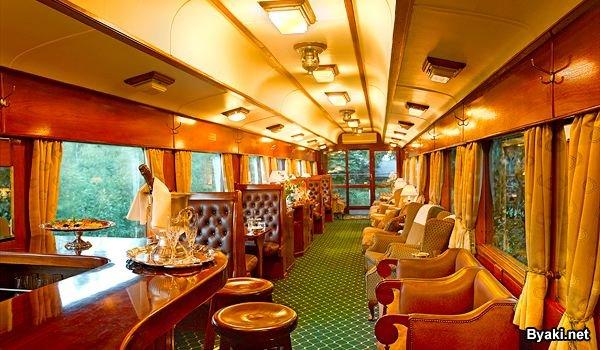 Арт-декор поезда
