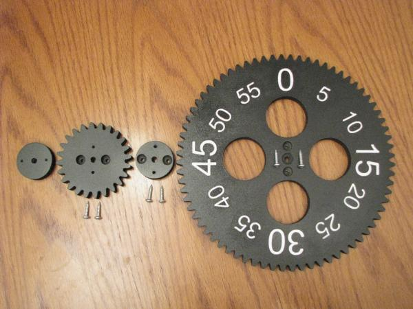 Gear Clock Kit от Alan Parekh (Фото 3)