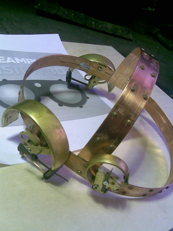 Хардкорная модель гугглов - Уэнш (механический измеритель эмоцый) (Фото 10)