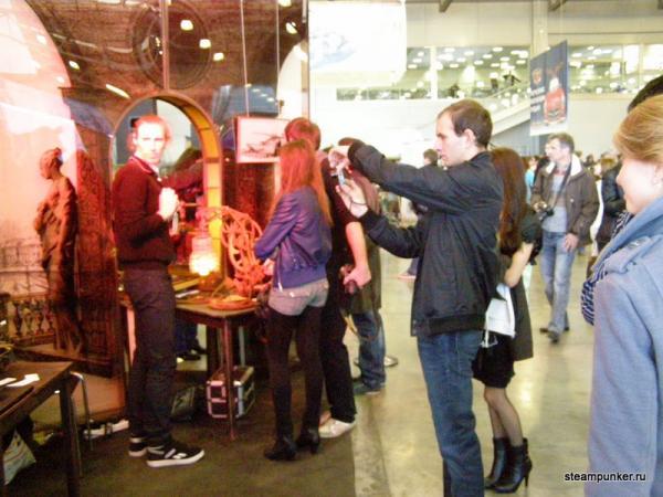 """Стимпанк стенд на """"Олдтаймер-галерее"""" 7-10 октября 2010 (Фото 7)"""