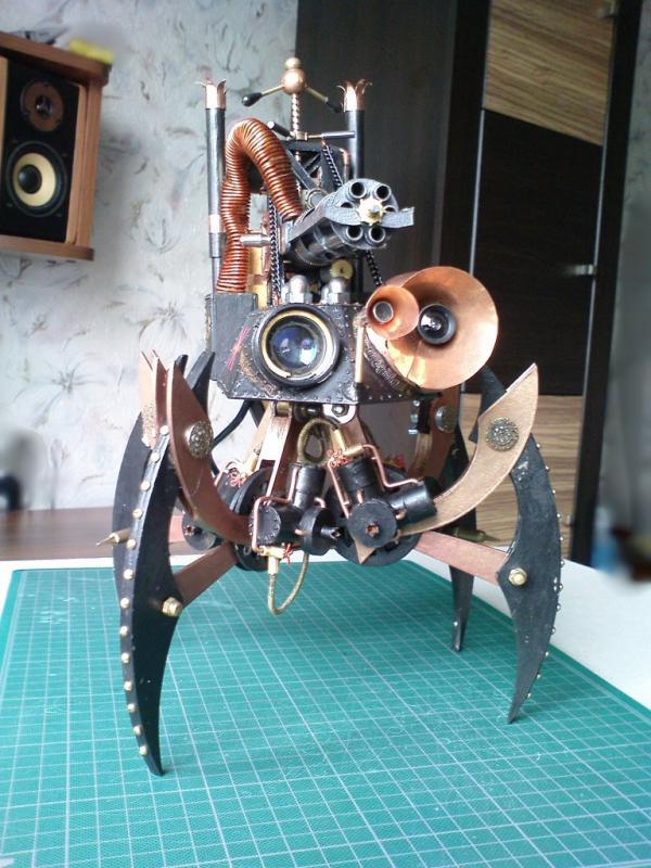 Имперский автономный ударно-разведывательный паровой дрон (Фото 20)