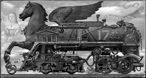 Живопись, лубок, и железнодорожные мутанты...