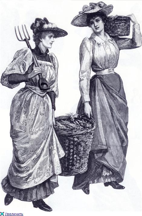 Иллюстрации из викторианских журналов (Фото 14)
