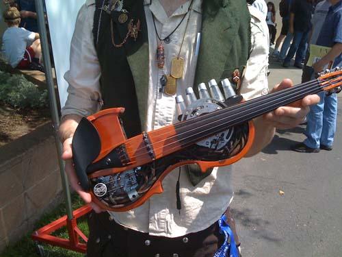 Стимпанк скрипка
