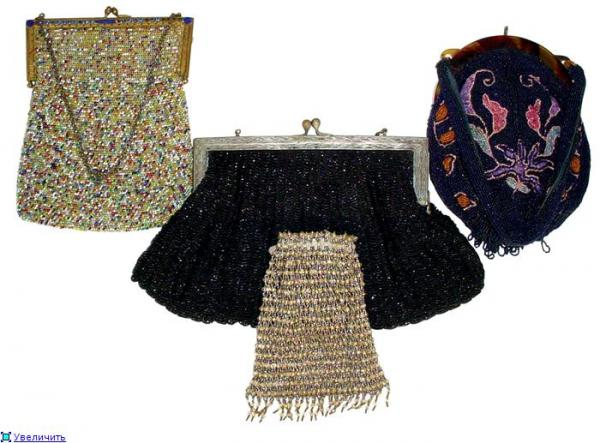 Дамские сумочки в Викторианскую эпоху (Фото 21)