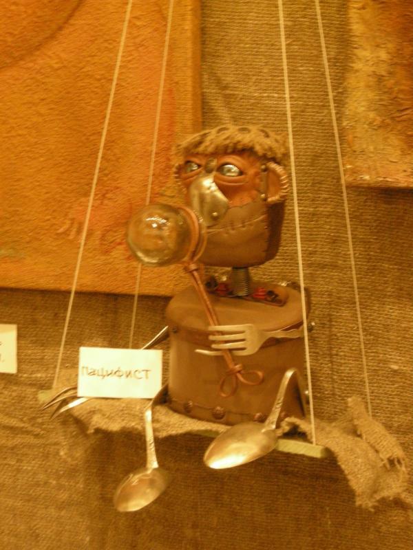 Выставка Авторской Куклы в залах Союза Художников (Петербург) (Фото 4)