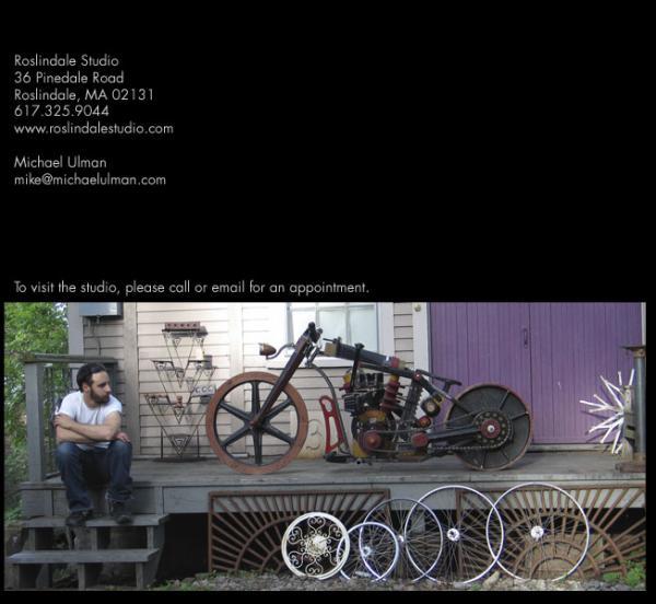 Michael Ulman - арт на колесах. (Дизельпанк) (Фото 16)