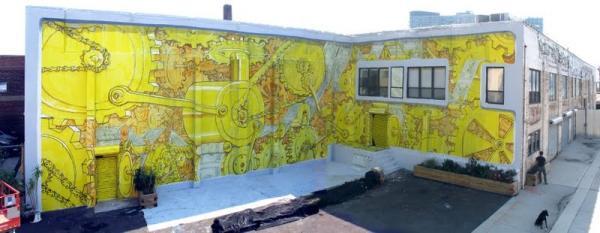 BLU. Граффити в Deitch gallery