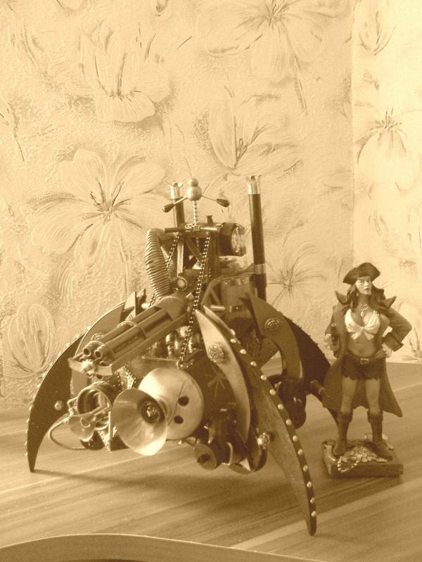 Имперский автономный ударно-разведывательный паровой дрон (Фото 24)