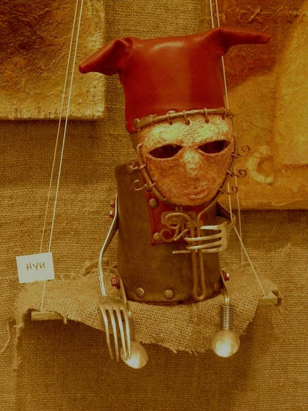 Выставка Авторской Куклы в залах Союза Художников (Петербург) (Фото 5)