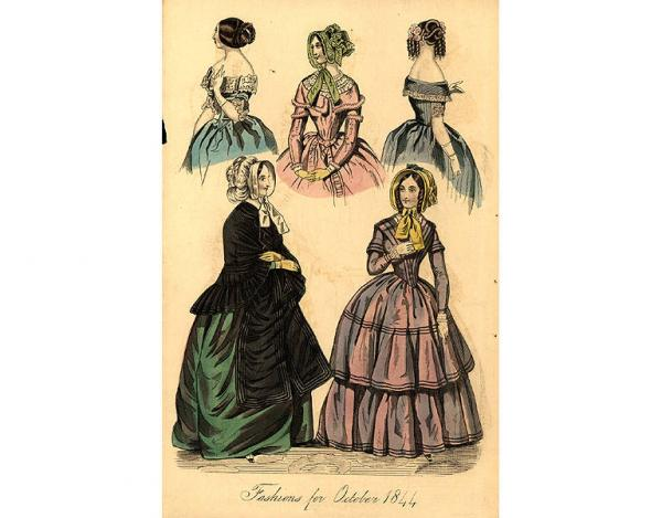Переменчивая мода Викторианской эпохи (Фото 8)