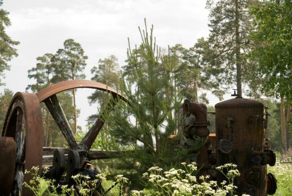 Фотографии из музея паровозов. (Фото 6)