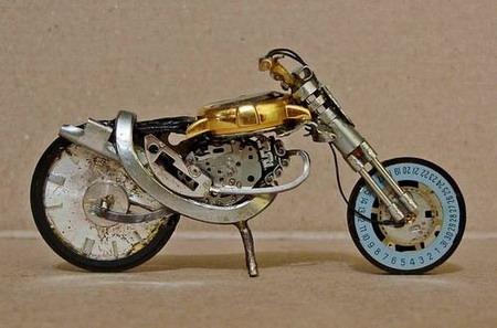 Мотоциклы из часовых механизмов (Фото 14)