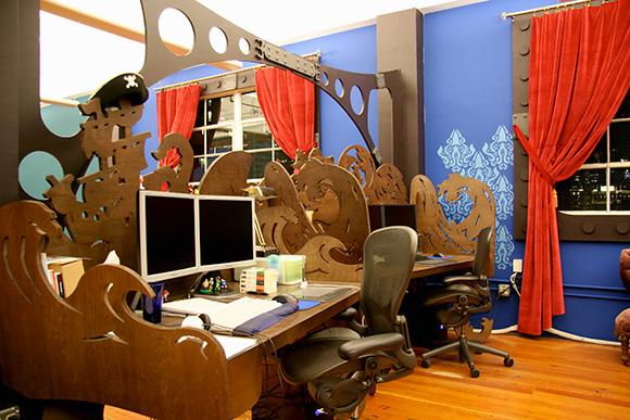 Стимпанк офис
