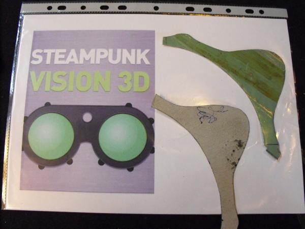 "Гогглы   Монте Кристо  для конкурса  ""STEAMPUNK-VISION 3D"" от NVIDIA .  № 1 (Фото 10)"
