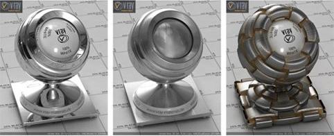 Металлические материалы V-Ray (Фото 2)