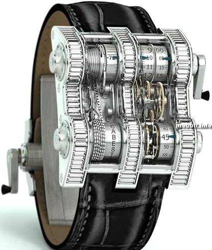 Заводские стимпанк часы