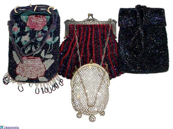 Дамские сумочки в Викторианскую эпоху (Фото 22)