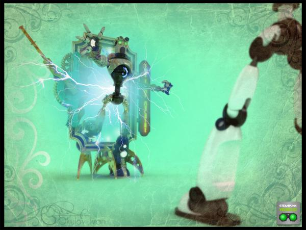 Работа на конкурс Steampunk-Vision 3D в Студию, автор Окулов Иван Юрьевич