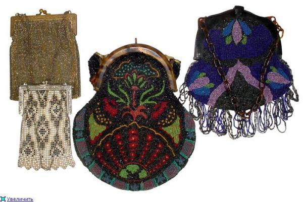 Дамские сумочки в Викторианскую эпоху (Фото 20)