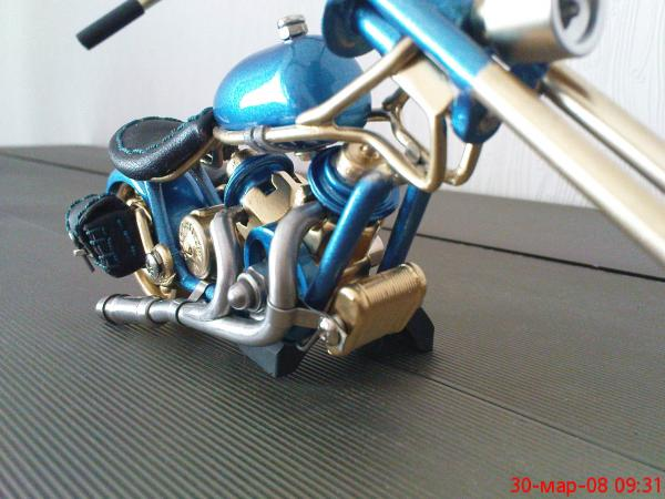 мотоцикл для робота (Фото 5)