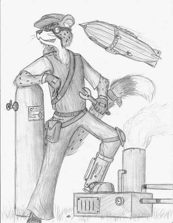 Steampunk furry (Фото 5)