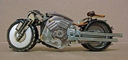 Мотоциклы из часовых механизмов (Фото 4)