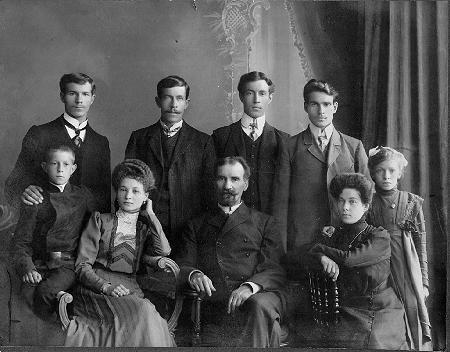 Семья из Томска.