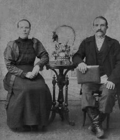 Жаровы Василий Иванович и Ефрасинья Андреевна. с. Ново-Куевское.