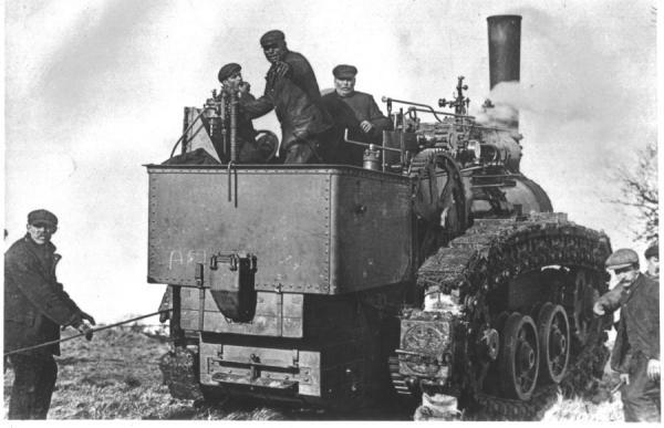 Паровой трактор Хорнсби (Фото 3)