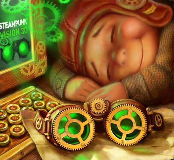 Работа на конкурс Steampunk-Vision 3D в Студию, автор Александр Драченко