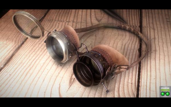 Работа на конкурс Steampunk-Vision 3D в Студию, автор Альберт