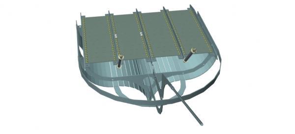 Летучий корабль 2 (3D-модель шаг за шагом) (Фото 28)