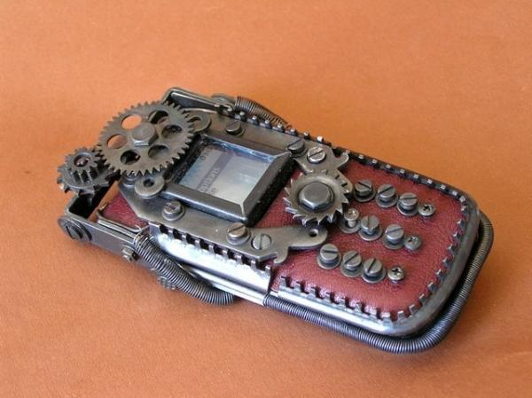 Steampunk cell phone M47 automatic Nokia