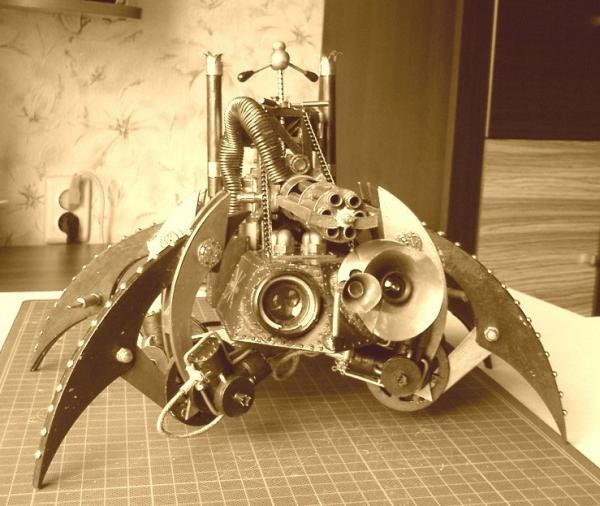 Имперский автономный ударно-разведывательный паровой дрон