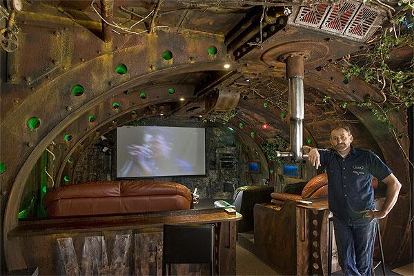 Интерьер - подводная лодка