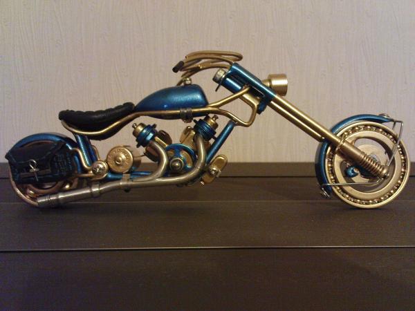 мотоцикл для робота (Фото 8)