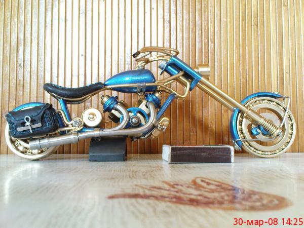 мотоцикл для робота (Фото 4)