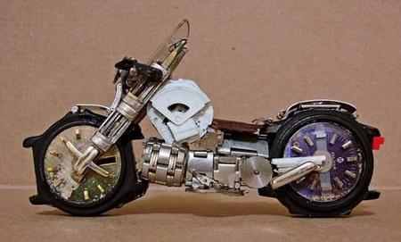 Мотоциклы из часовых механизмов (Фото 6)