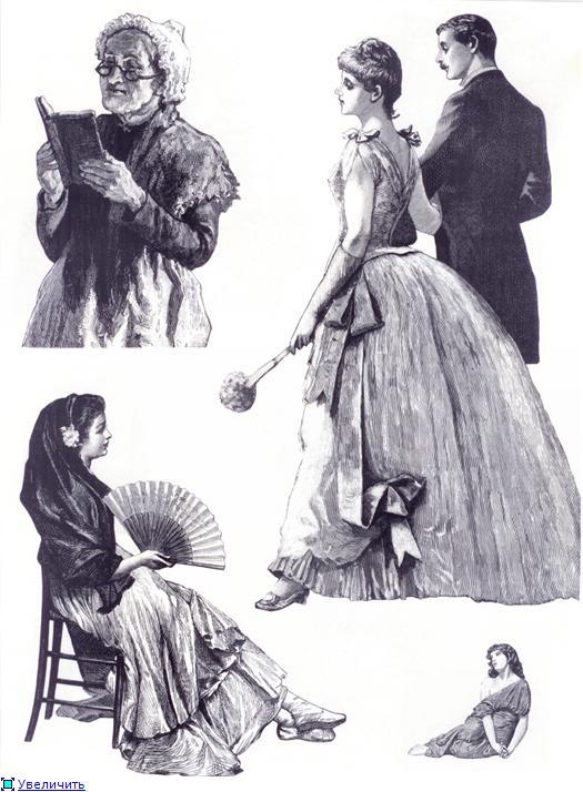 Иллюстрации из викторианских журналов (Фото 12)