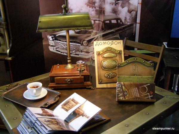 """Стимпанк стенд на """"Олдтаймер-галерее"""" 7-10 октября 2010 (Фото 21)"""