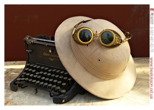 "Гогглы   Монте Кристо  для конкурса  ""STEAMPUNK-VISION 3D"" от NVIDIA №5"