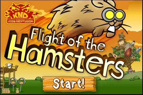 Flight Of The Hamsters Flash Game