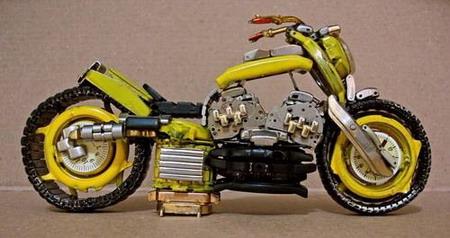 Мотоциклы из часовых механизмов (Фото 15)
