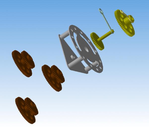 Развивая тему шестерёнок в 3D (Фото 4)