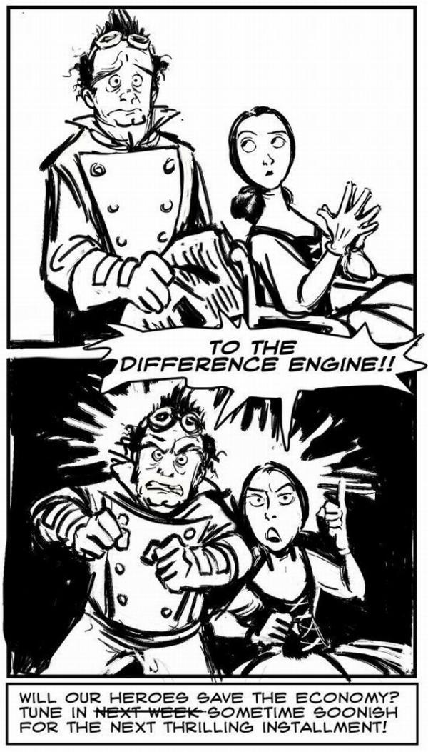 Придворные комиксы. (Фото 7)
