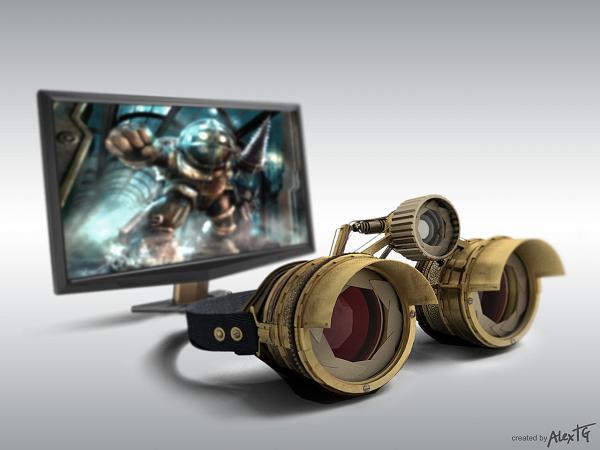 Работа на конкурс Steampunk-Vision 3D в Студию, автор Алексей